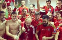wales-players-and-fans-celebrate-qualifying-for-euro-2016