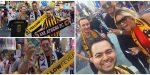 Με κασκόλ της ΑΕΚ στην Times Square, στο Μανχάταν ο Αϊντάρεβιτς! (vid)