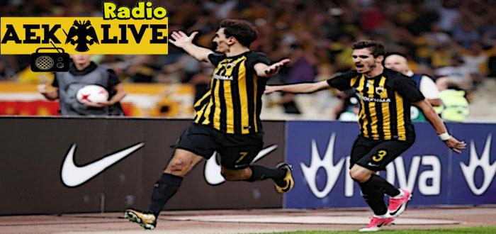 Γυρίζει στην… Ελλάδα και στο AEK-LIVE RADIO