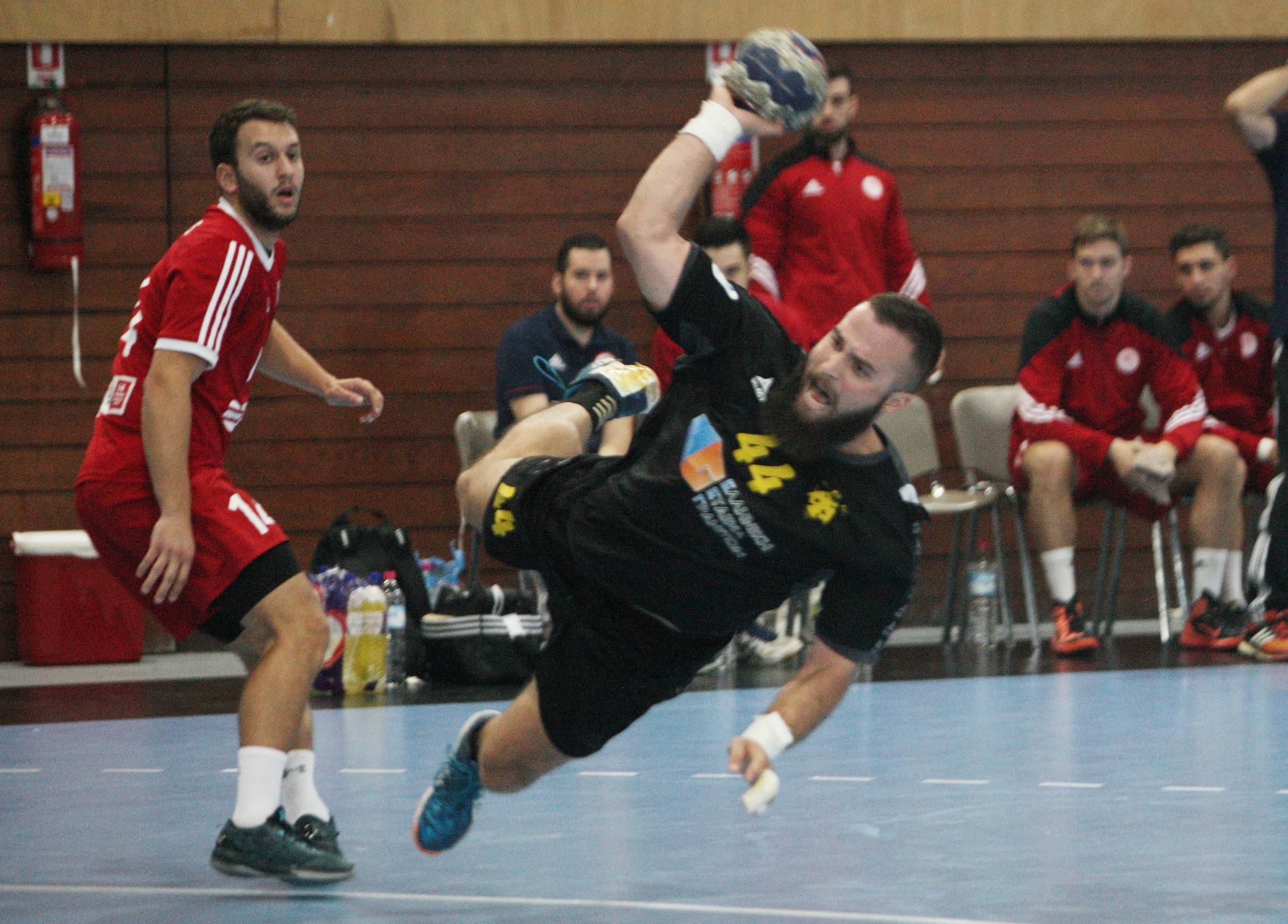 Αποτέλεσμα εικόνας για Ολυμπιακός - ΑΕΚ Handball Premier - 3ος τελικός, χάντμπολ