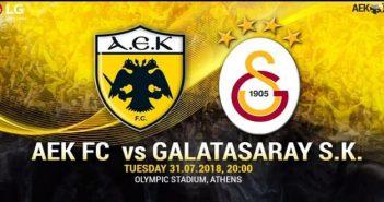 ΑΕΚ - ΓΑΛΑΤΑΣΑΡΑΪ    aek-athens vs galatasaray live streaming